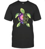 In A World Full Of Grandmas Be A Gigi Sea Turtle Floral Shirt