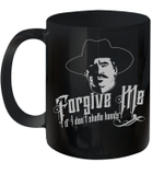 Forgive Me If I Don't Shake Hands Mug