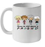 Golden Girls Thank You For Being A Friend Graphic Tee Mug
