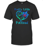 Heart Weed Pretty Little Pothead Graphic Tees Shirt