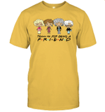 Golden Girls Thank You For Being A Friend Graphic Tee Shirt