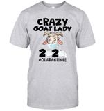 Crazy Goat Kady 2020 Quarantined Shirts Funny #Quarantined T Shirt