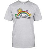 Bear Rainbow I Hate People Shirt Funny Sun T Shirt