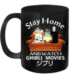 Stay Home And Watch Ghibli Movies 2020 Mug Quarantine 2020