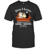 Stay Home And Watch Ghibli Movies 2020 T Shirt Quarantine 2020