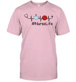 Nurse Life Heart Beat Coffee 2020 Quarantined Gift T-Shirt #NurseLife