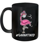 Flamingo Quarantined Flarantined Mug