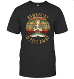 Yoga Namastay 6 Feet Away Vintage Shirt