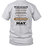 This Old Man Has Fought A Thousand Battles And Is Still Standing Born In May Shirt