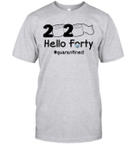 2020 Hello Forty #Quarantined Shirt