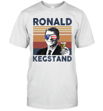 Ronald Kegstand US Drinking 4th Of July Vintage Shirt Independence Day American Gift