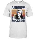 Andrew Jackson US Drinking 4th Of July Vintage Shirt Independence Day American Gift