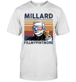 Millard Fillmypintmore US Drinking 4th Of July Vintage Shirt Independence Day American Gift