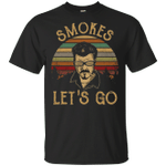 Vintage Retro Sunset Trailer Park Boys Smokes Let's Go Shirt