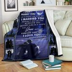 I didn't marry you I could live with you Blanke – Fleece Blanket