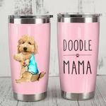 Goldendoodle Dog Mama Steel Tumbler 20oz Funny Dog Mother's Day Gift