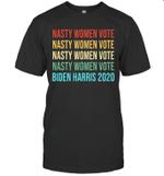 Nasty Women Vote Biden Harris 2020 Vintage Shirt