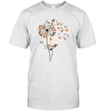 Dandelion Chicken Flower Shirt Floral Chickens Tree Lover T-Shirt