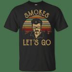 Vintage Retro Sunset Trailer Park Boys Smokes Let's Go Shirt