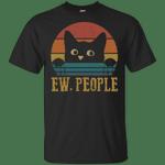 Cat ew people vintage retro sunset Shirt