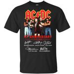 AC/DC 47th anniversary 1973-2020 signature Shirt