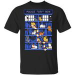 Police Box Public Cat T-Shirt