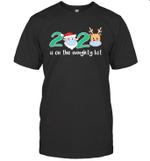 2020 Is On The Naughty List Christmas Reindeer Gifts Shirt