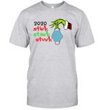 Grinch Hand Holding Face 2020 Stink Stank Stunk Shirt