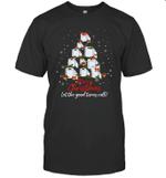 Funny Quarantine Christmas 2020 Toilet Paper Xmas Tree Gift Shirt