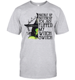 Buckle Up Buttercup You Just Flipped My Witch Switch Shirt Funny Halloween Gift