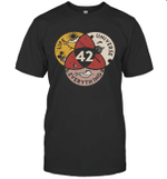 Science 42 Life Universe Everything Vintage Shirt