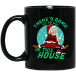 There's Some Ho Ho Hos In This House Christmas Santa Claus Mug