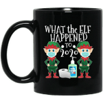 Funny Christmas 2020 Elf What The Elf Happened To 2020 Mug