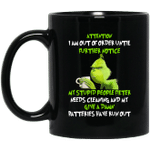 The Grinch Attention I Am Out Of Order Until Further Notice Christmas Gifts Mug