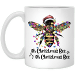 Bee Santa Oh Christmas Bee Oh Christmas Bee Light Mug Xmas Gifts Coffee Mugs