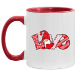 Valentine's Day Gnome Love Funny Couple Matching Gifts Mug