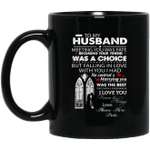 Personalized To My Husband Meeting You Was Fate Becoming Your Friend Was A Choice Mug Custom Name Coffee Mugs