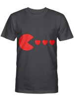 Valentines Day Hearts Funny Boys Girls Kids Gift T-Shirt