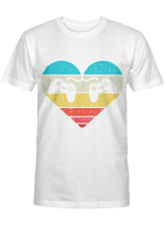 Heart Video Game Controller Boys Valentines Day Gamer Gift T-Shirt