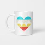 Heart Video Game Controller Boys Valentines Day Gamer Gift Mug