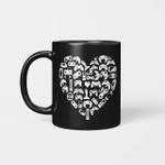 Boys Gamer Gift - Game Heart Valentines Day Lover Men Kids Mug