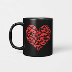 Boys Valentines Day - Dinosaur Heart Kids Dino Gift Mug