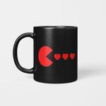 Valentines Day Hearts Funny Boys Girls Kids Gift Mug