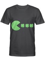 St Patricks Day Clovers Funny Boys Girls Kids T-Shirt