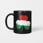 Funny St. Patrick's Day Irish Hungarian Shamrock Flag Gifts Mug