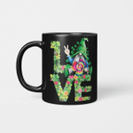 Funny LOVE Gnomes Irish Shamrock St Patrick's Day Gifts Mug