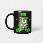 Dabbing English Bulldog St Patrick's Day Gift Mug