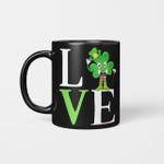 St Patrick's Day 2021 Shamrock Love Patricks Family Fun Luv Gift Mug