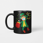 St Patrick's Day Leprechaun In A Mask 2021 Gift Mug