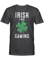 Video Gamer Saint Patricks Day Gaming Lucky Gamer For Boys T-Shirt